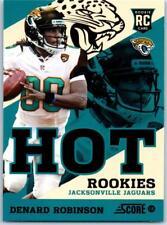 2013 Score Hot Rookies #18 Denard Robinson Jaguars