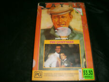 Vhs *THE QUIET MAN (1952) - JOHN WAYNE* RARE CBS/FOX 1990 Issue - Comedy Romance