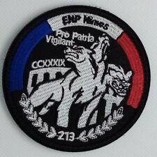 Ecusson Patch Ecole Nationale de Police ENP Nîmes 213 à Scratch ou à Coudre 8 cm