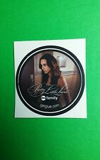 """PRETTY LITTLE LIARS FRYING PAN INTO INFERNO GETGLUE GET GLUE SMALL 1.5"""" STICKER"""