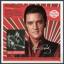 Union Island Gren St Vincent 2019 MNH Elvis Presley Life in Stamps 1v S/S I
