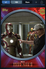 Topps Marvel Collect DIGITAL IRON MAN 3 BEHIND THE SCENES - ID #4653 169CC