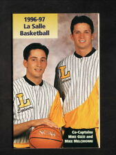 LaSalle Explorers--1996-97 Basketball Pocket Schedule--Holiday Inn