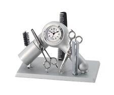 Hair Dresser Stylist Barber Miniature Desk Clock Sanis New In Box