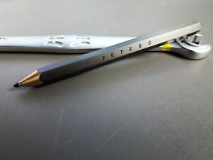 Tetzbo  Chibien exclusive ballpoint pen DARK BROWN NARROW