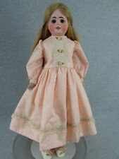 "22"" antique German bisque shoulder head Doll for French Market marked Germany 7"