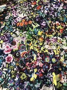 NWT Robert Graham Vibrant Printed Floral Dress Shirt Classic Fit XL