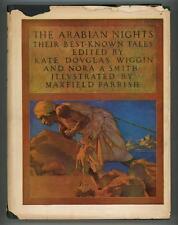 The Arabian Nights by Kate Douglas Wiggin Maxfield Parrish