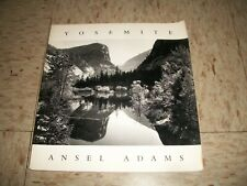 Yosemite by Ansel Adams 1995 Softcover Picture book