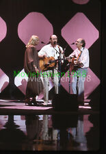 Peter, Paul and Mary MUSIC GROUP VINTAGE 35mm SLIDE TRANSPARENCY 12562 PHOTO