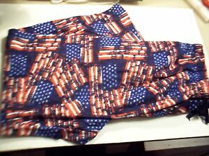 Mens Joe Boxer S American Flag Patriotic Lounge/Sleep Pant Sm Poly  Fleece  New