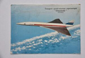 Prototype Concorde artist's impression airline postcard