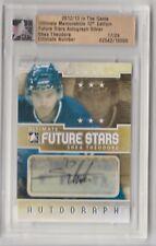 Shea Theodore 2012-13 ITG Ultimate Future Stars Autograph Silver 17/24 Knights
