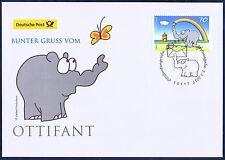 BRD 2017: Otto Waalkes Bunter Gruß vom Ottifant! Post-FDC der Nr. 3292! 1803