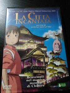 DVD film animato MIYAZAKI STUDIO GHIBLI LA CITTA' INCANTATA by irmani