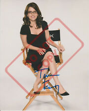 8.5x11 Autographed Signed Reprint RP Photo Tina Fey