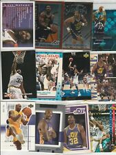 KARL MALONE Lot (129) different 2 W/ #'D ULTIMATE 26 INSERTS MYSTERY UNPEELED 89