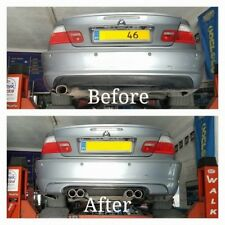 BMW E46 REAR LIP CSL LOOK FOR M SPORT REAR BUMBER