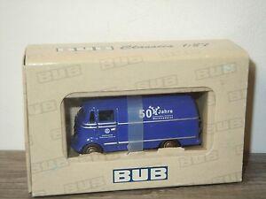 Mercedes L319 50 Jahre THW Marktredwitz van BUB Models 1:87 in Box *26712