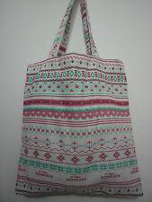 Cotton Linen Tote Shopping Handbag Shoulder Bag Women Girls Purse-Flower2