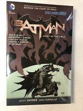 Batman: Night of the Owls TPB Softcover (2013) Snyder