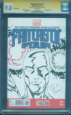 Fantastic Four 1 CGC 9.8 SS Sam De La Rosa Original art Silver Surfer Sketch