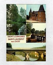 ST-CONGARD-ST-LAURENT (56) CHATEAU de BEAUMONT ,PONT sur CANAL & ECLUSE sur OUST
