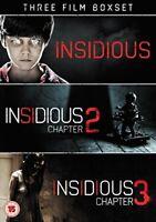 Insidious Triple: Insidious/Insidious 2/Insidious 3 [DVD][Region 2]