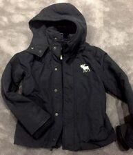 Abercrombie Boys Navy Jacket Anorak Size Medium (M)
