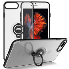 ICONFLANG Crystal With Ring Holder Kickstand 360 Case For IPhone 8plus/iPhone 7