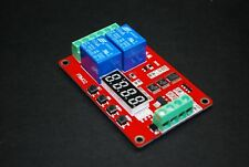 12V Relay Cycle Timer Module PLC Home Automation Delay Multifunction RV 2.0 A135