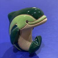 Vintage Artesania Rinconada Green Dolphin #319 Classic Design Collection
