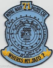Royal Navy 71 Pilots Course Embroidered Crest Badge Patch