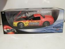 Mattel 1:18 Hot Wheels Advanced Auto Parts C5 Corvette Diecast Metal Car