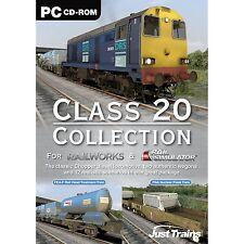 La clase 20 Collection: adiciónales para simulador ferroviario, Railworks & Railworks 2 (pc) Nuevo