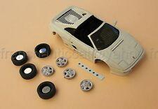 LU Voiture Ferrari F355 355 collector blanc cassé 1/43 Heco modeles miniature