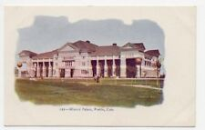 1905 PUEBLO CO MINERAL PALACE EMBOSSED POSTCARD PC3972