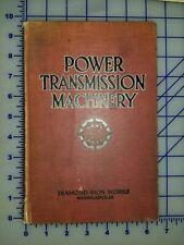 1917 Power Transmission Machinery Diamond Iorn Works Catalog