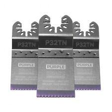 SMART 32MM 'PURPLE SERIES' TITANIUM ALLOY, BI-METAL BLADE (PACK OF 3) BRAND NEW