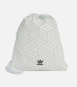 adidas Originals 3D Gym Sack White Unisex School/Gym
