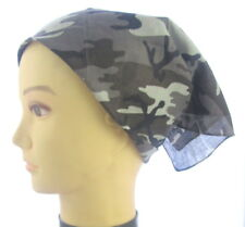 Square scarf / Bandana / camourflage/ Hat/biker - UK Seller