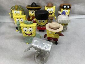 Spongebob Squarepants -Truth or Square Lot of 10 Burger King Nickelodeon