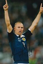SCOTLAND HAND SIGNED KENNY MILLER 12X8 PHOTO PROOF 12.