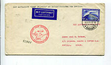Germany 1930 Graf Zeppelin South America Flight Cover to Seville - C38