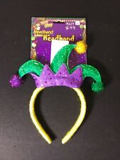 Mardi Gras Jester Headband Costume Accessory One Size Fits All