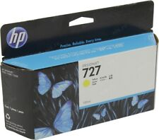 HP #727 Yellow Ink Cartridge B3P21A GENUINE NEW