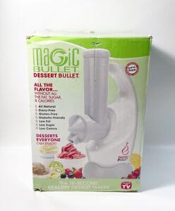 NEVER USED! Magic Bullet Dessert Bullet 10 Second Healthy Dessert Maker