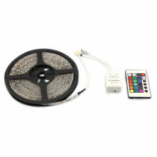 Waterproof 5m 300 SMD LED 3528 RGB Strip Light 12v Remote Controller 24 Key IR
