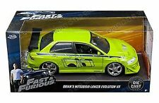 Jada Fast and Furious Brians MITSUBISHI Lancer Evolution VII 124 Diecast Car