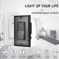 1x 1/2/3 Gang Smart WiFi Wall Light Switch Modern Panel For Amazon Alexa/ Google